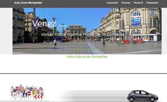 Auto école Montpellier à vendre